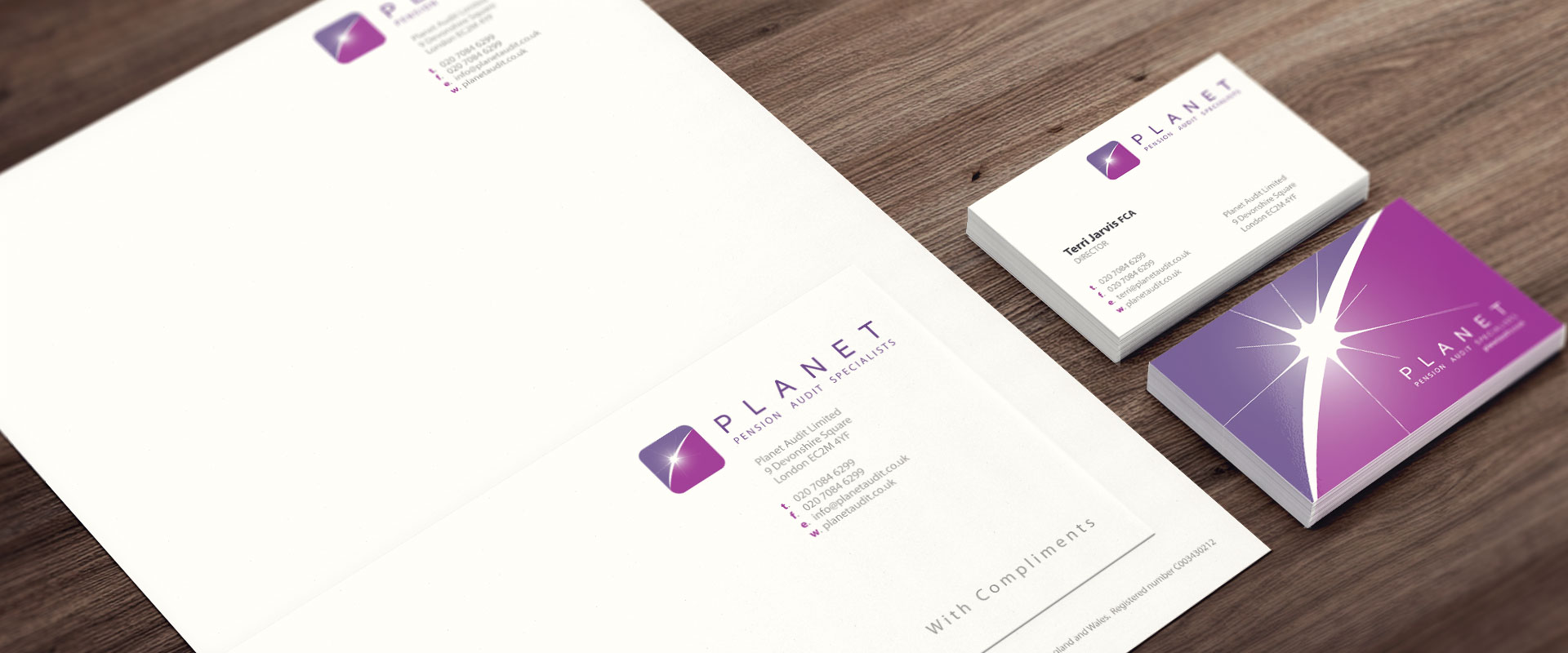 Planet Pensions Stationary