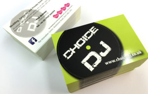 Business Cards – Full Colour Litho + Spot UV Varnish