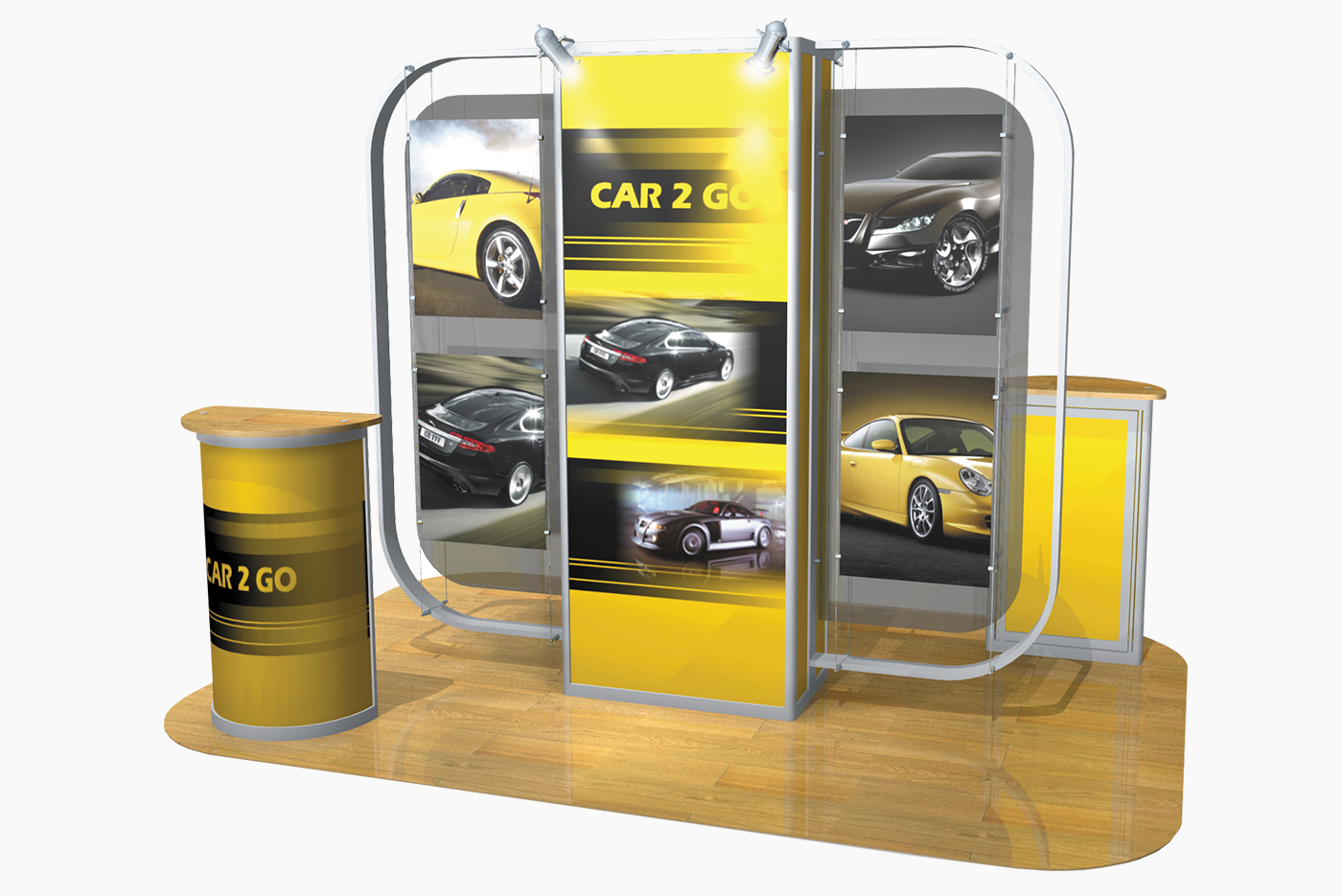 Exhibition Stand Kits : Reed displays exhibition stand design and build