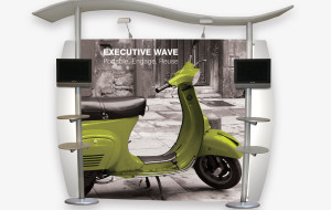Executive Wave POS Display